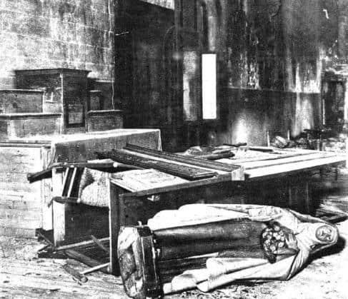 Photo of Saqueo y quema de iglesias y conventos en la Segunda República