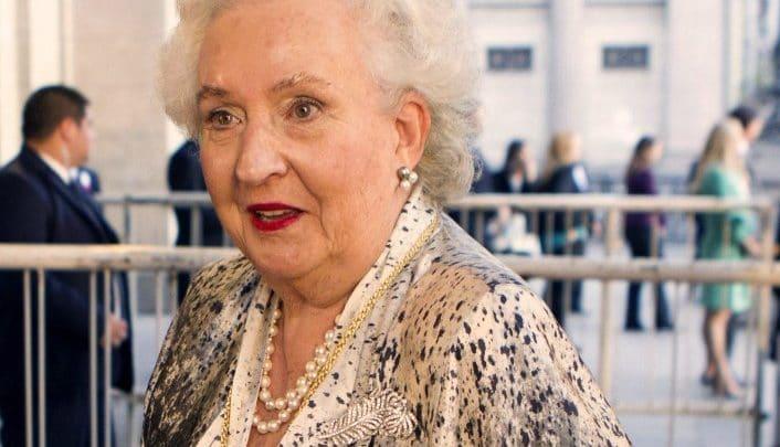 Photo of Pilar de Borbón, contra la exhumación de los restos de Franco