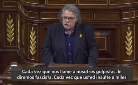 Photo of Tardá a Rivera: «Cada vez que nos llame a nosotros golpistas, le diremos fascista»