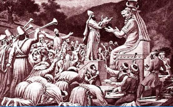 Photo of Moloch, dios de los abortos, asesino de inocentes
