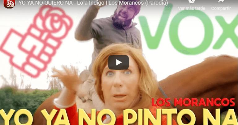 Photo of Divertida parodia de Los Morancos sobre el adiós de Susana Díaz y la irrupción de VOX en Andalucía