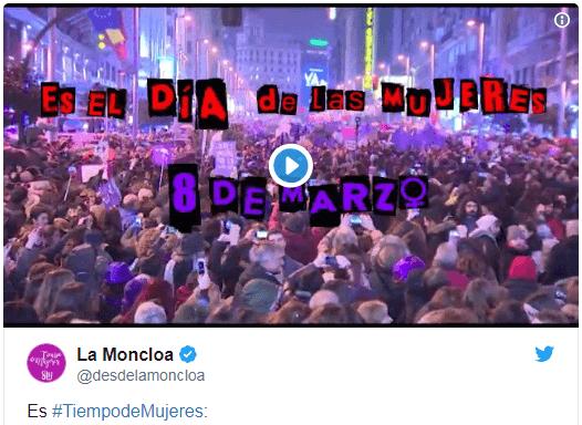 Photo of El Gobierno busca atraer el voto feminista con #TiempodeMujeres