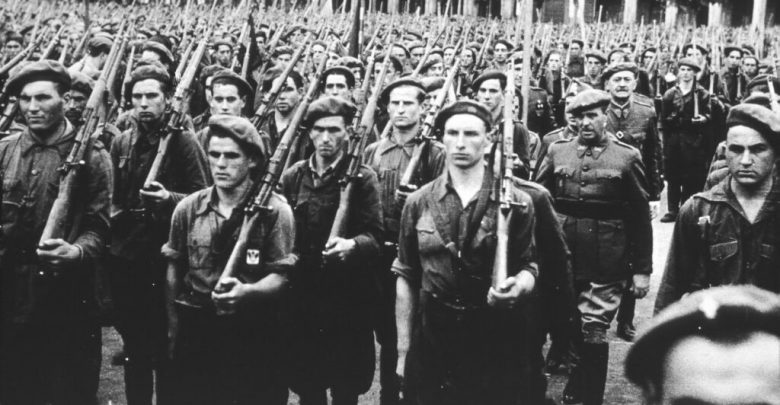 Photo of Requetés contra Brigadas Internacionales