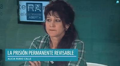 Photo of Alicia Rubio: «Pensar que todos los delincuentes son reinsertables, es una quimera»