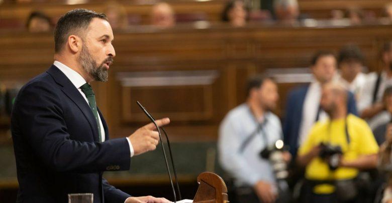 """Photo of """"Señores de Podemos, Esquerra, Bildu y PNV, no apoyaremosnunca a la marioneta que quieren poner al frente de España"""""""