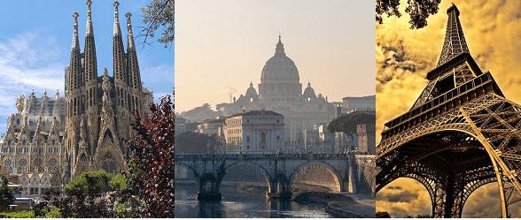 Photo of De Barcelona a Roma, pasando por París