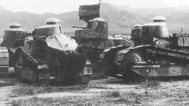 Photo of Hazaña de una Compañía de tanques española. Guerra de Marruecos. 1923