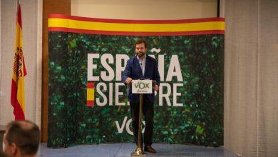 """Photo of Iván Espinosa, en Salamanca: """"Seguimos permitiendo que el marxismo se apodere de los partidos cuando España está en riesgo"""""""