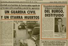 Photo of El heroísmo de un Policía Nacional: Rentería, 1980