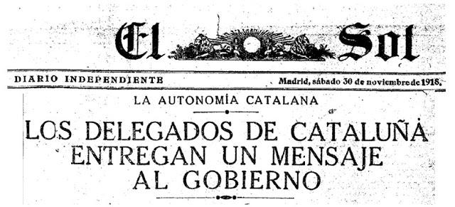 Photo of Cuando los separatistas creyeron que los aliados establecerían una Cataluña independiente – 1919