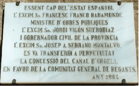 Photo of La placa maldita. Cuando Francisco Franco era Francesc Franco