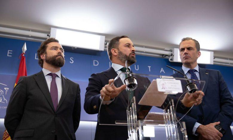 Photo of Abascal denuncia el 'fraude electoral' de Sánchez: 'No tiene palabra, vergüenza, escrúpulos, ni principios'