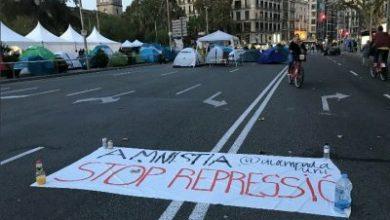 Photo of Se rompe la acampada en Barcelona entre broncas y acusaciones de robo