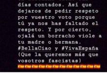 Photo of Dimite un concejal socialista tras desear la violación de las hermanas y madres de votantes de Vox