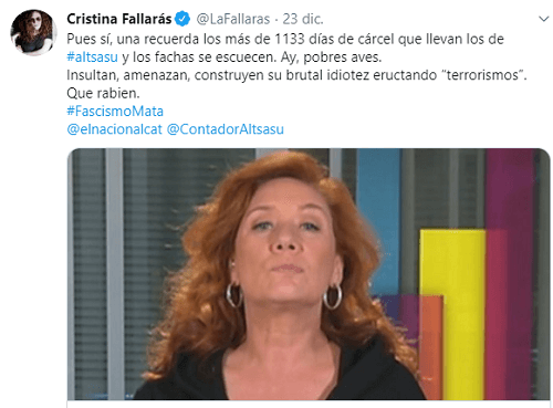 Photo of Fallarás la lía en Twitter, defendiendo a los agresores de Alsasua
