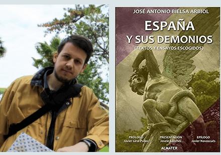 """Photo of José Antonio Bielsa Arbiol presenta al público el libro """"España y sus demonios"""""""