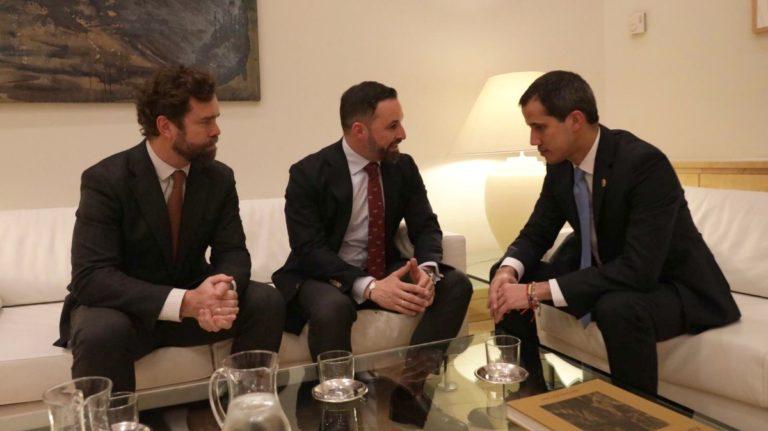 Photo of Abascal se reúne con Guaidó y denuncia que el Gobierno de España depende hoy de Maduro