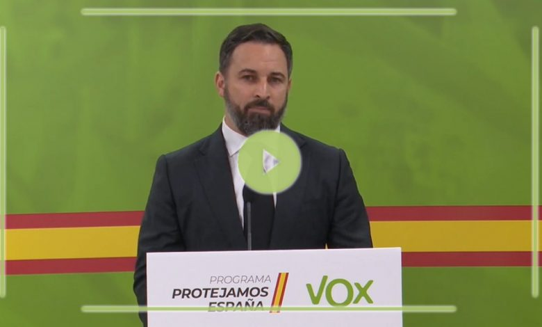 Photo of Abascal pide la dimisión del Ejecutivo y la creación de un Gobierno de Emergencia Nacional para hacer frente a la crisis del Covid19