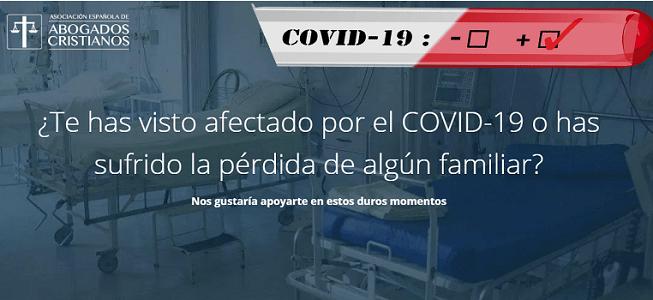 Photo of Abogados Cristianos ofrece asistencia legal gratuita a familiares de fallecidos por coronavirus