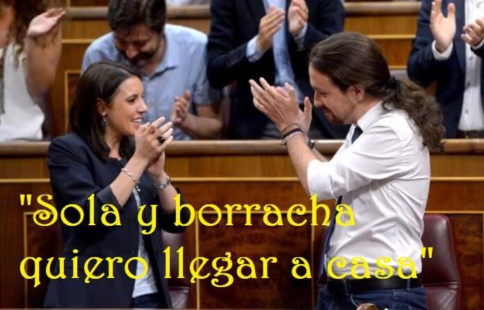 Photo of Sola y borracha quiere llegar mi Ministra favorita a casa
