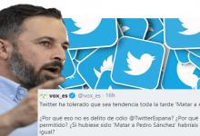 Photo of Abascal denuncia una campaña en Twitter pidiendo su muerte
