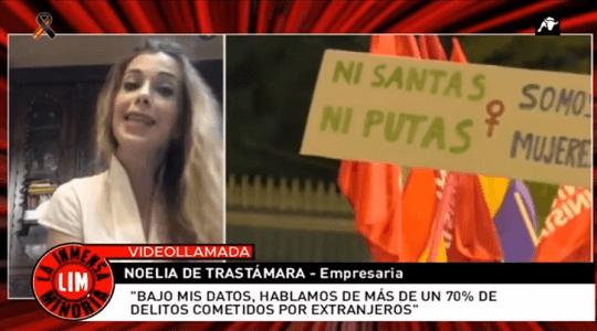 Photo of Noelia de Trastámara: «El 70% de agresiones sexuales, son cometidas por extranjeros»