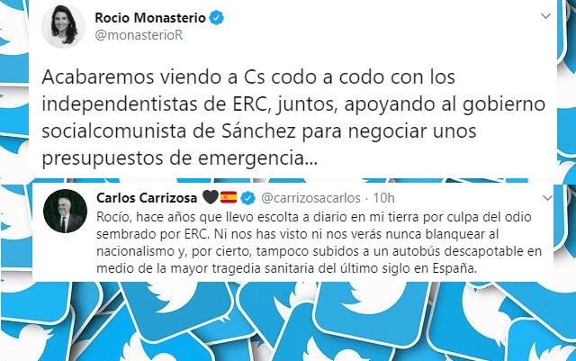 Photo of Duro cruce de acusaciones en Twitter entre VOX y Ciudadanos