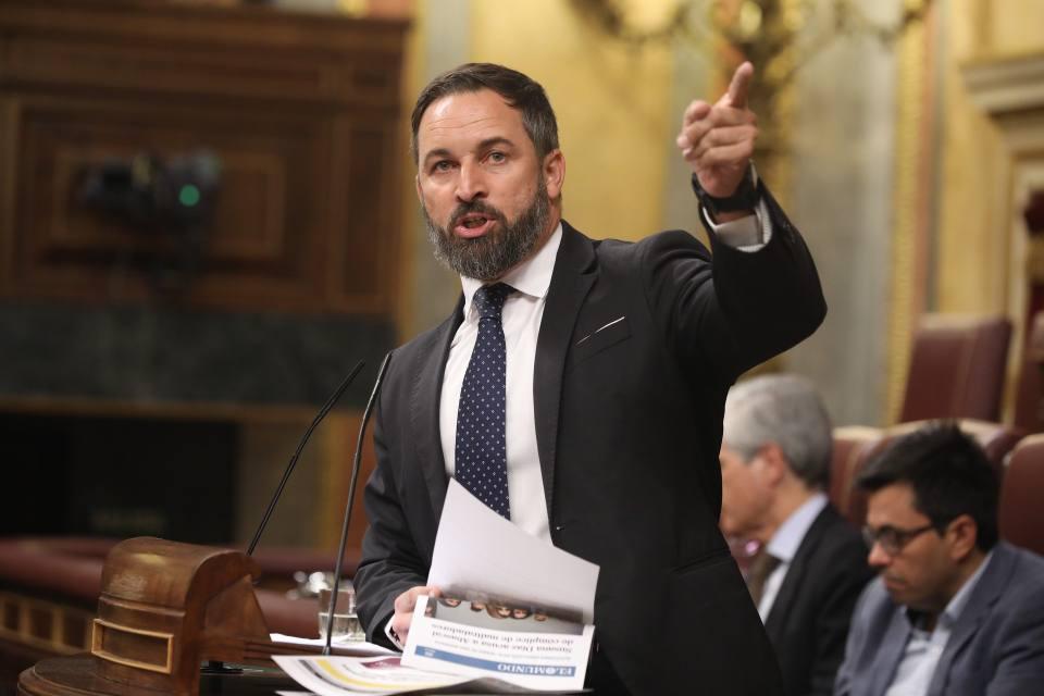 Photo of VOX registrará la moción de censura el martes 29 en el Congreso, con Santiago Abascal como candidato