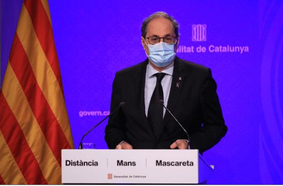 """Photo of Torra advierte de que Cataluña """"está en la antesala de la situación del mes de marzo"""""""
