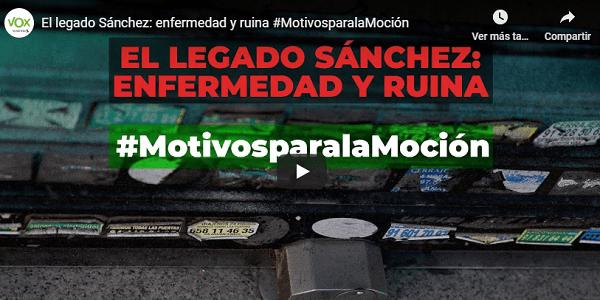 Photo of VOX publica «un recorrido por la España arruinada por la negligente gestión del gobierno Sánchez»