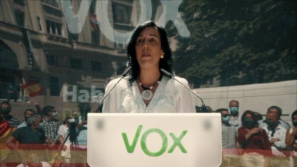 """Photo of Amaia Martínez: """"La razón de ser de VOX es señalar a aquellos que han creado el discurso del odio a España"""""""