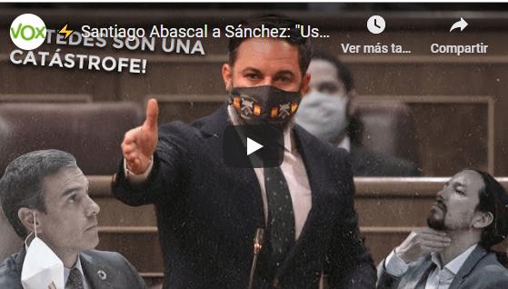 Photo of Abascal: 'Sánchez preside el peor gobierno de los últimos 80 años'