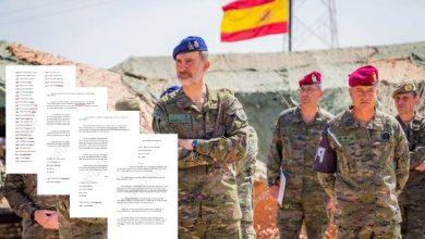 Photo of Mandos retirados del Ejército trasladan al Rey su preocupación por el gobierno «socialcomunista»