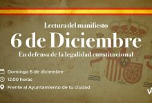 Photo of VOX convoca a los ciudadanos ante los ayuntamientos, el día de la Constitución