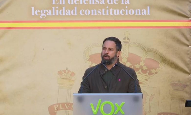 """Photo of Abascal, en Barcelona: """"Hay mucho más respeto a la legalidad constitucional en las calles que en el Congreso de los Diputados"""""""