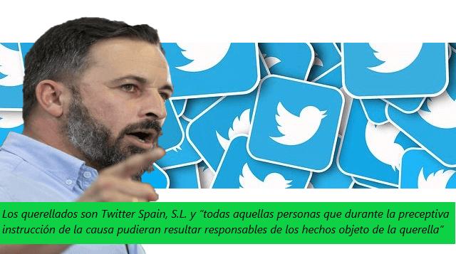Photo of VOX se querella contra Twitter por lesión de derechos fundamentales