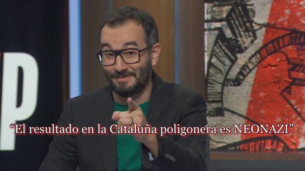 Photo of Jair Domínguez (Catalunya Radio) insta a combatir a VOX con un «puñetazo en la boca»