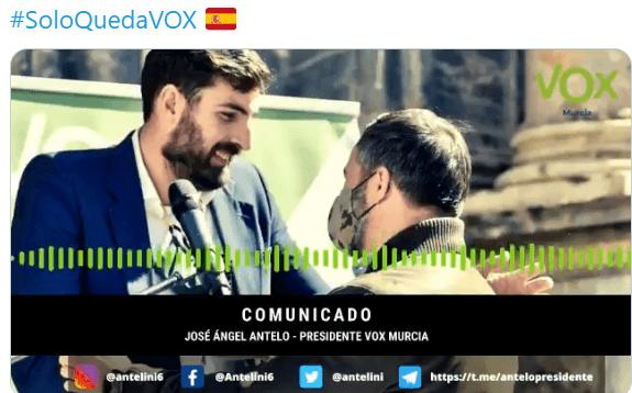 Photo of Con todas las encuestas a favor, VOX pide nuevas elecciones en Murcia