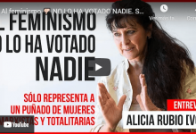 Photo of Alicia Rubio: «El feminismo es una ideología desquiciada»  [VÍDEO]