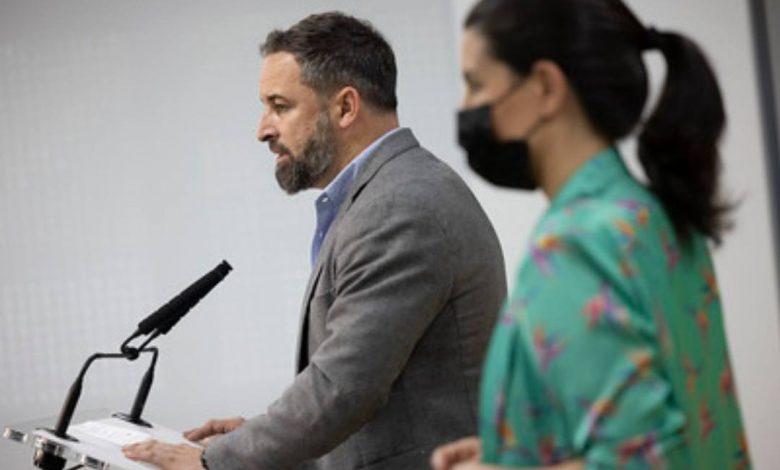 """Photo of Abascal: """"VOX no va a olvidar el ambiente violencia e intimidación durante la campaña electoral"""""""