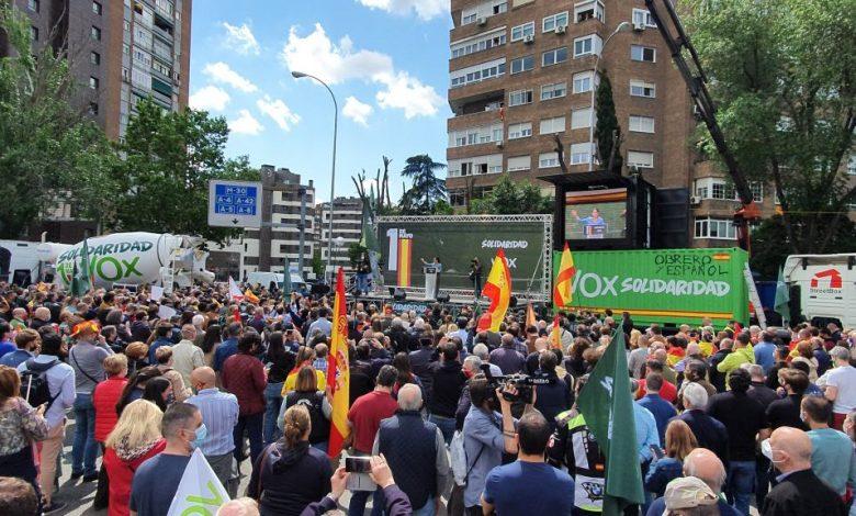 """Photo of Abascal, el 1 de Mayo: """"El futuro pertenece a los patriotas y no a los globalistas"""""""