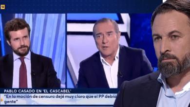 Photo of Abascal le baja los humos a un Casado que se atribuye el éxito de Ayuso